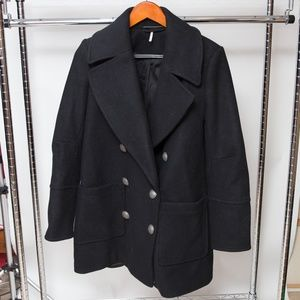 Free People Wool Peacoat Size XS